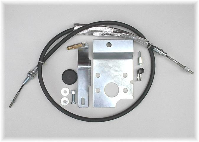 65-66 mustang cable kit