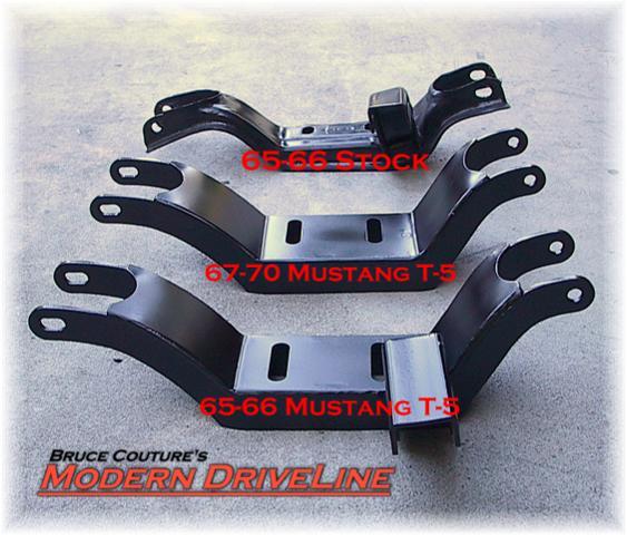 T5 crossmember 65-70 Mustang