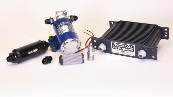 Transmission oil cooler kit